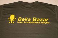 Triko s potiskem BekaBazar